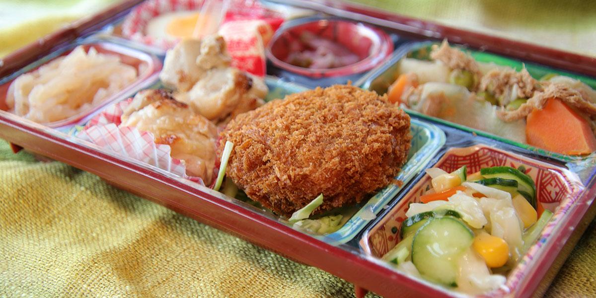 日配給食弁当ハローランチは事業所やオフィスに毎日お昼のお食事をお届け